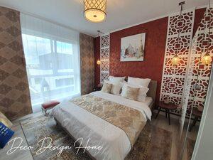 dormitor arabesc